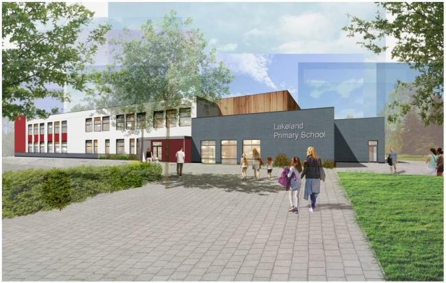 Vision - what Lakelands Primary School could look like.