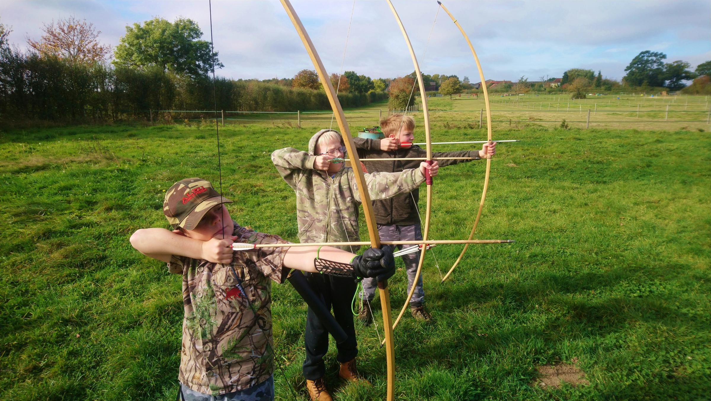 Summer archery camps for kids