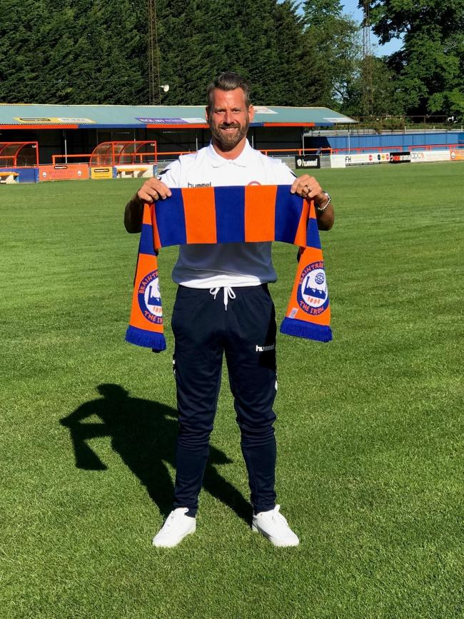 Braintree Town manager Glen Driver. Picture: Braintree Town FC