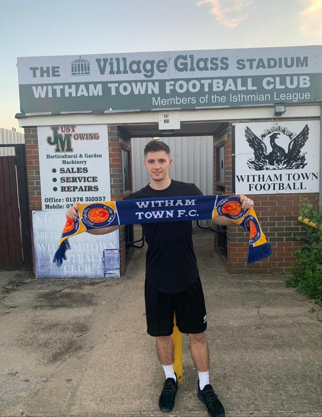 Prolific striker George Bugg has joined Witham Town.