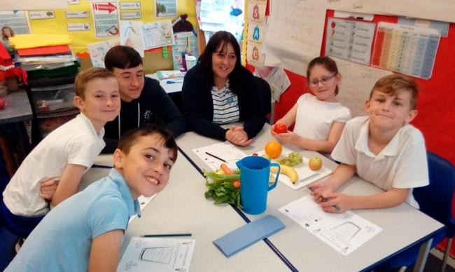 Wellbeing week: Parents were invited to join Year 5 pupils at Great Bradfords Junior School in Braintree in a week of special learning about living a healthy lifestyle