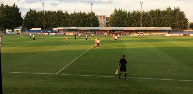 Braintree Town hosted a Brentford XI in a pre-season friendly at Cressing Road