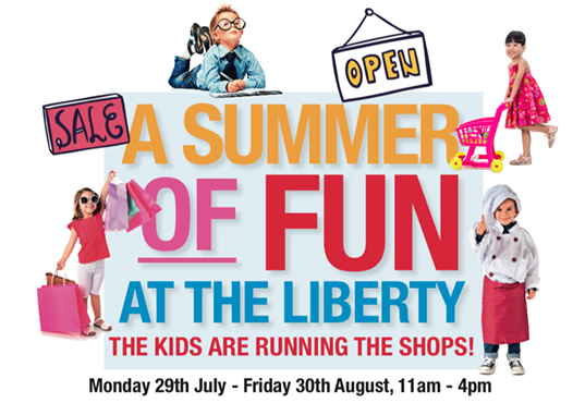 A Summer of Fun at The Liberty Shopping Centre