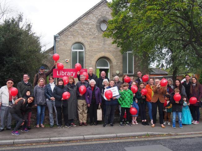 NO TO CUTS: Coggeshall library protesters have held demonstrations against its proposed closure