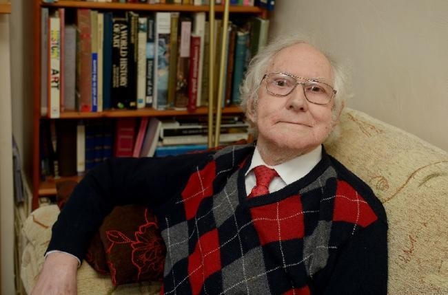 Next step: Kenneth Shepherd, 86, has published his third book in two years
