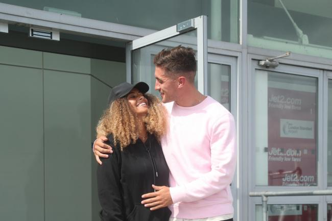 Love Island winners Amber Gill and Greg O'Shea