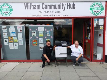 Hub welcomes donation