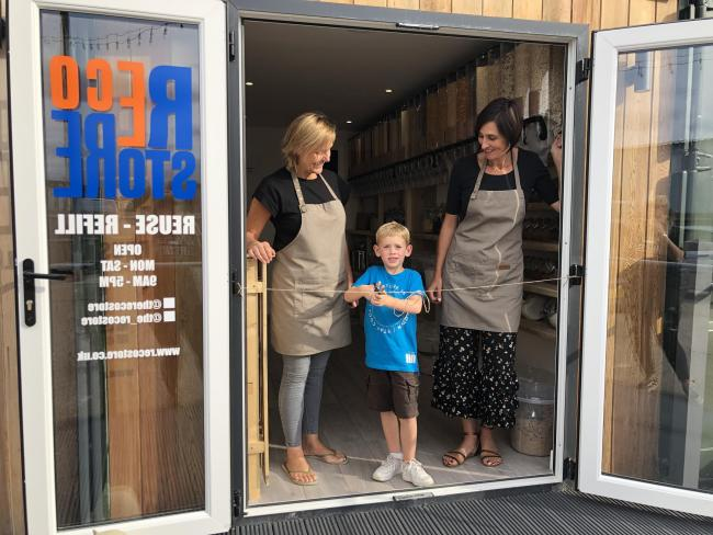 Ollie opens REco store alongside Elise Clitheroe and Susie Falco