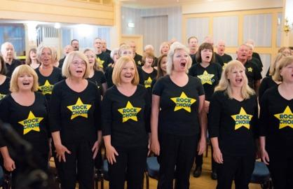 Singing - Colchester Rock Choir