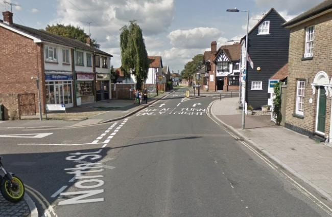 The driver was attacked in North Street, Rochford