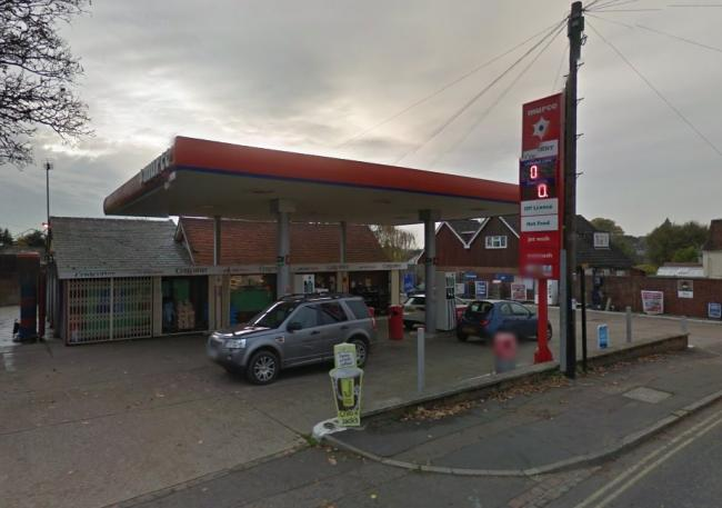 Raid - Saracens petrol station in Thaxted