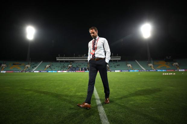 Gareth Southgate spoke to officials after racist chanting during the qualifier against Bulgaria