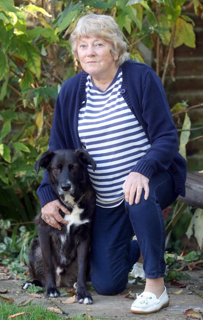 Court - Beryl Harvey has been convicted of being in charge of an out of control dog                                        PICTURE: EAST NEWS