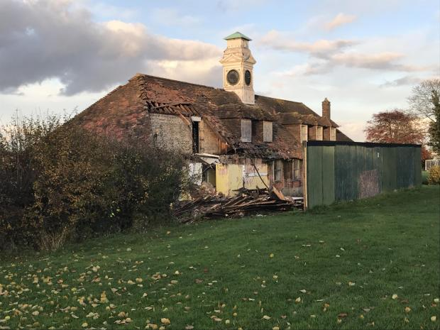Braintree and Witham Times: After day one of the demolition