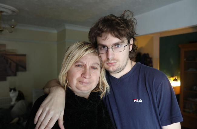Mum hits out at DWP after son's disability benefits are stopped