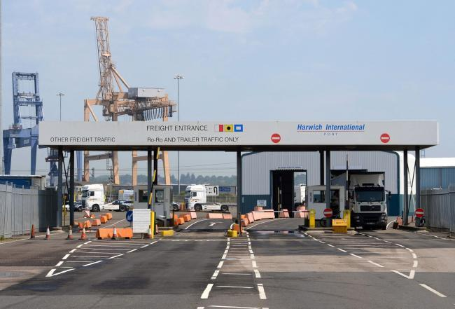 DRUGS FOUND: Border Force officers found 19 kilos of cocaine at Harwich port