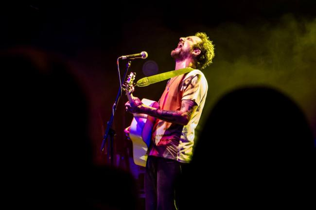 ACCOMPLISHED PERFORMER: Frank Turner is headling the charity concert at Colchester Arts Centre Picture: Victor Frankowski