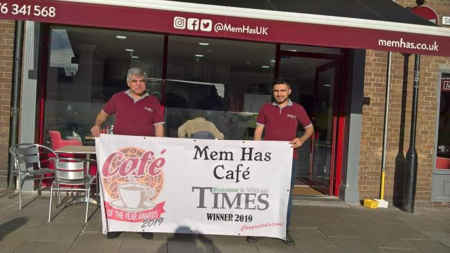 BEST CAFE: Mes Cafe won Braintree Cafe of the Year 2019