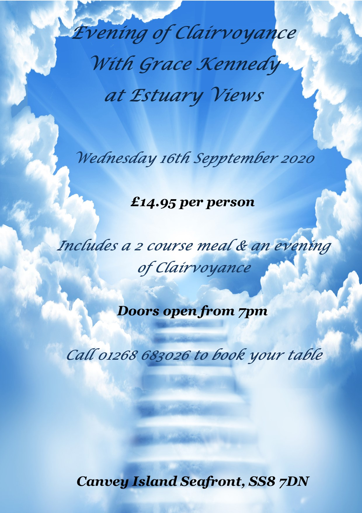 Evening of Clairvoyance with Grace Kennedy