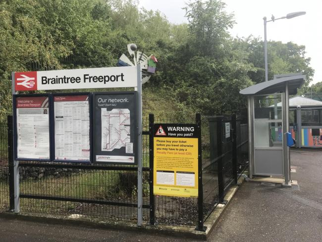 Braintree Freeport railway station
