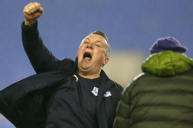 Micky Mellon had plenty to celebrate after his Tranmere side knocked Watford out of the FA Cup