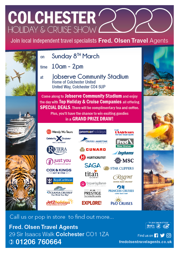 Colchester Holiday & Cruise Show