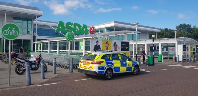 Scene - Neil Diaz has admitted attempted false imprisonment of a woman and her young son at Asda