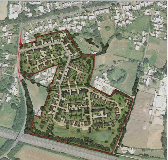 150 homes planned for School Road, Rayne