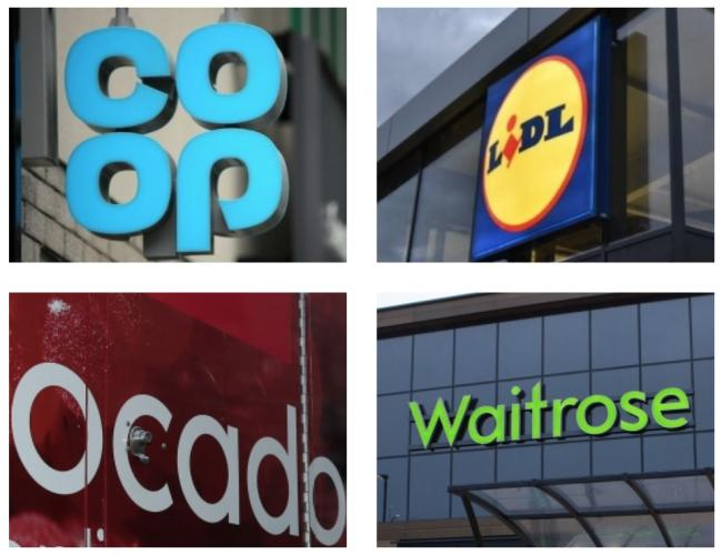 SUPERMARKETS: Products sold at the Co-op, Lidl, Ocado and Waitrose have been recalled in an alert issued on behalf of the Food Standards Agency. Picture: Newsquest