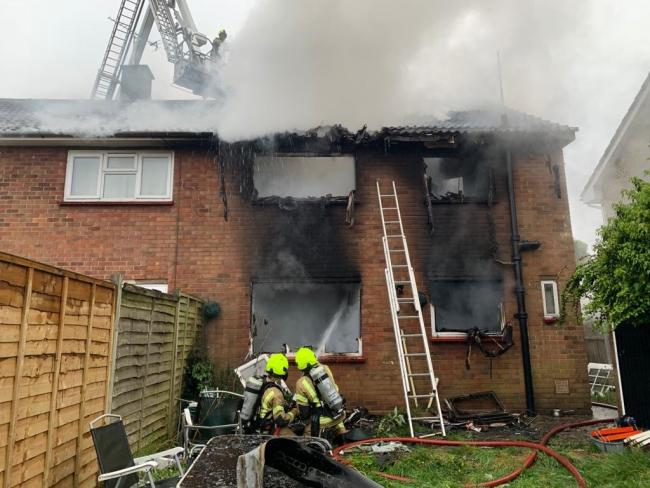 Family in Braintree left homeless after house fire in Pegasus Way |  Braintree and Witham Times