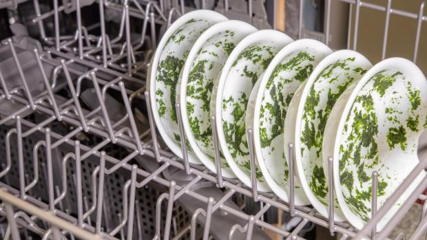 Braintree and Witham Times: It's hard for your dishwasher to remove dried-on food—and spinach is the worst. If you can't run a full normal cycle right away, at least start a rinse cycle. Credit: Reviewed / Jonathan Chan