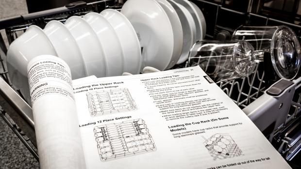 Braintree and Witham Times: Find your dishwasher's user manual, and use it. Yeah, it's not a compelling read, but it will show you the best ways to load. And if anything ever goes wrong, the manual will help you troubleshoot. Credit: Reviewed / Jonathan Chan
