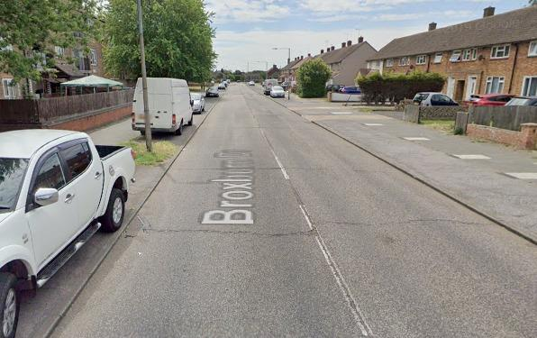 The alleged incident took place in Broxborne Drive