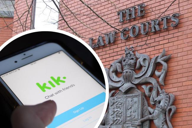 Paedo snared by undercover cop on Kik social media app