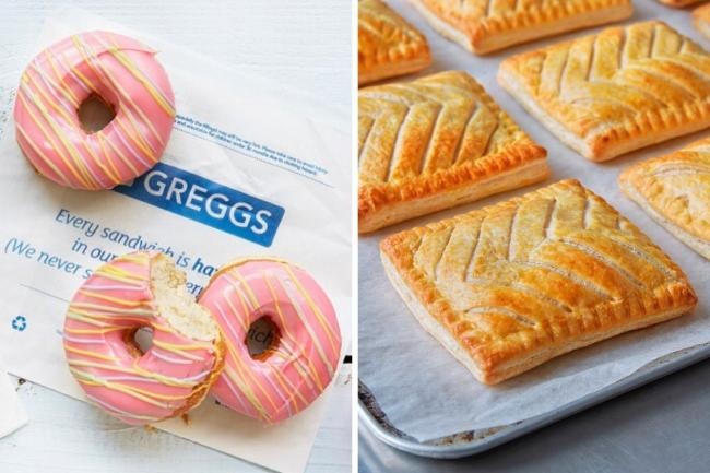 Greggs limited menu: These are the sweet and savoury treats you can buy. Pictures: Greggs