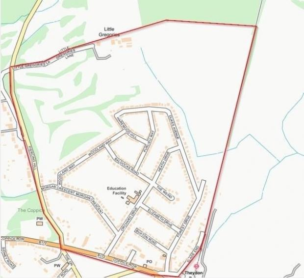 Braintree and Witham Times: The area covered by the dispersal zone