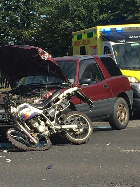 Crash Between Car And Motorbike Closes Bournemouth Park Road Southend Braintree And Witham Times