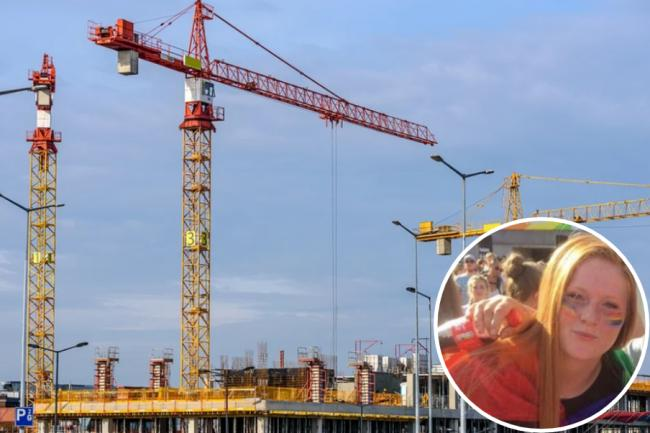 Man arrested on suspicion of GBH after 20-year-old struck by crane on work site