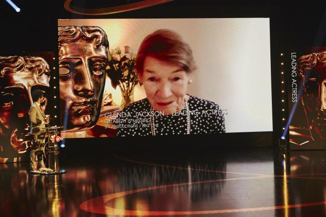 Leading actress winner Glenda Jackson