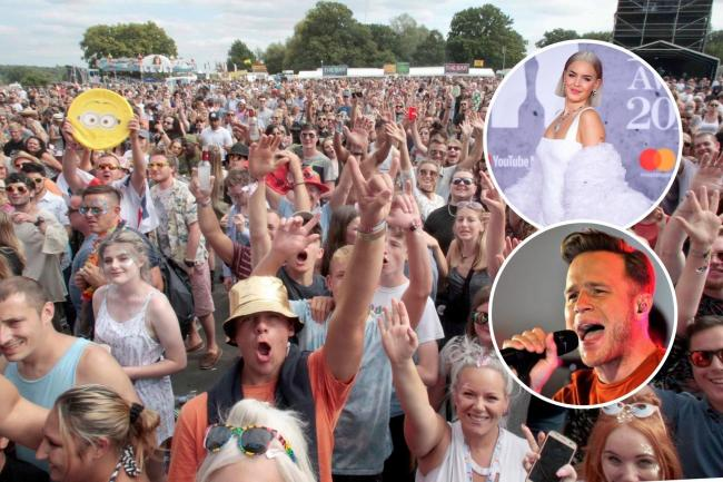 Olly Murs and Anne-Maire will be headlining at the virtual V Festival