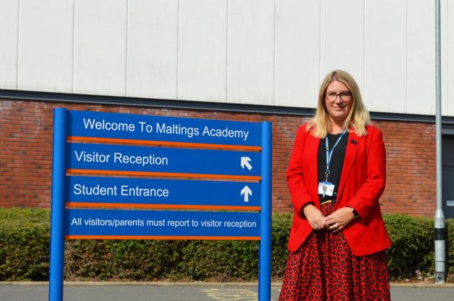 Teri-Leigh Jones has taken the reigns at Maltings Academy in Witham