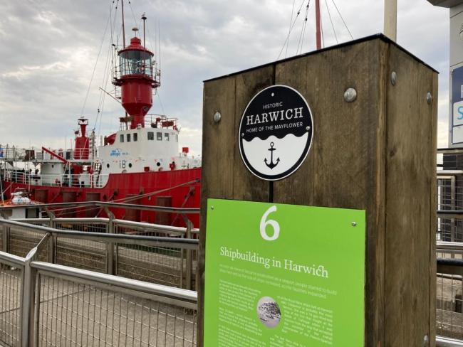 Historic path: The Mayflower Trail is around Harwich