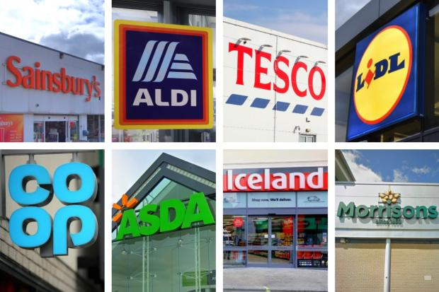 These are the supermarket chains that are rationing products. Picture: Newsquest