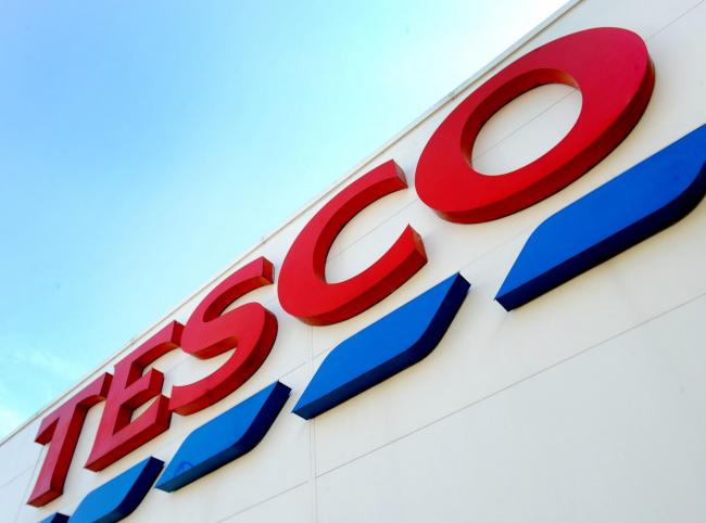 Tesco hikes cost of plastic bags to 20p in a bid to get shoppers to cut down on plastic use. Picture: PA