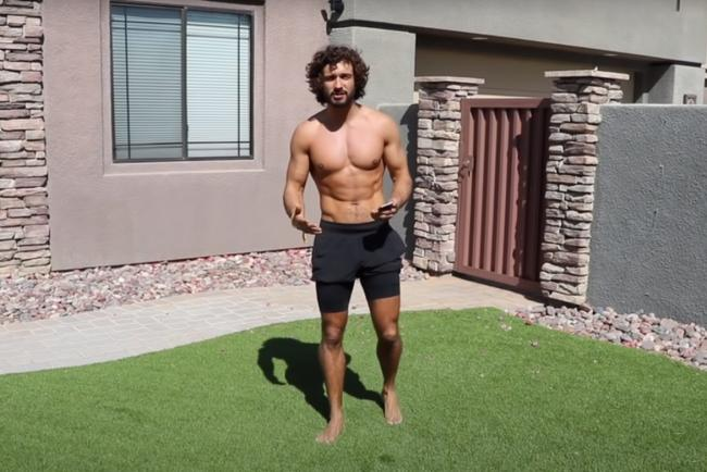 Joe Wicks: Body Coach to take on 'intense' 24-hour workout challenge for BBC Children In Need. Picture: The Body Coach YouTube channel