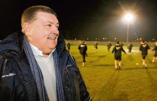 Braintree and Witham Times: Braintree Town chairman Lee Harding.
