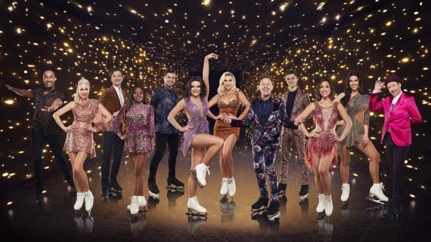 Braintree and Witham Times: The 2021 Dancing on Ice celebrities. Picture: ITV