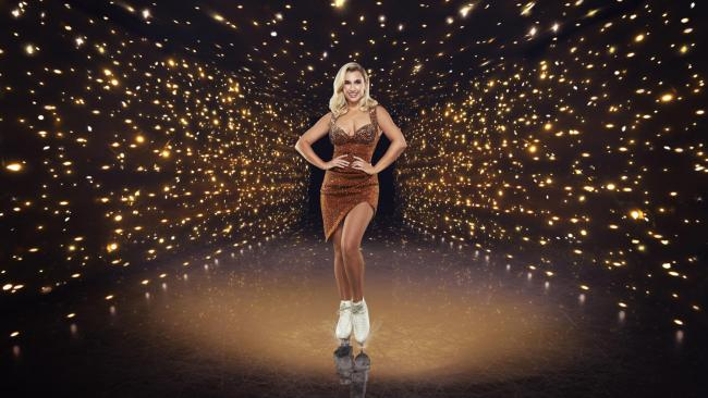 Dancing On Ice contestant Billie Faiers will make her first appearance on the show tonight.  Picture: ITV