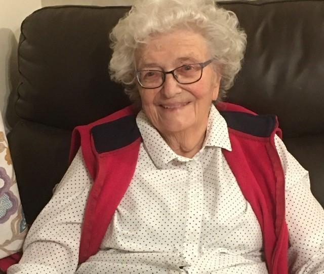 Concern - Doreen Owers, 92, lives in a care home in Kirby Cross