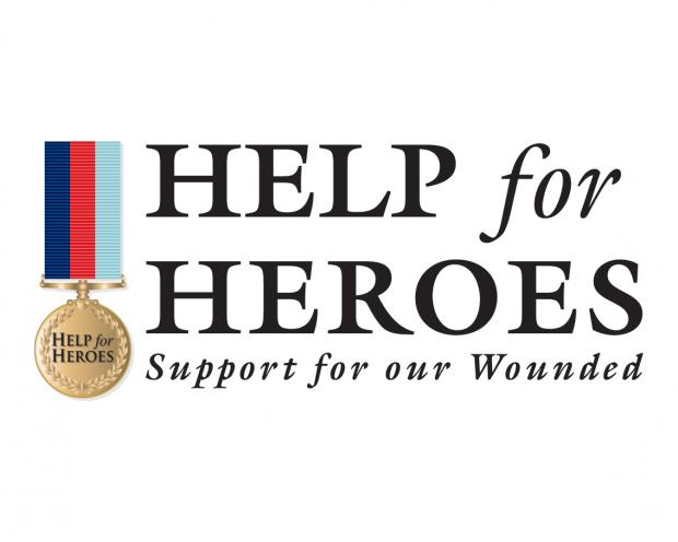 Benson Bar is supporting Help for Heroes